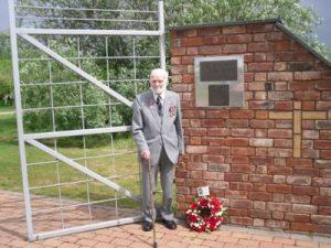 92nd birthday visit to National Memorial Arboretum, 8 May 2011