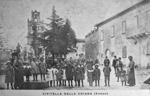 Postcard of Civitella 1920