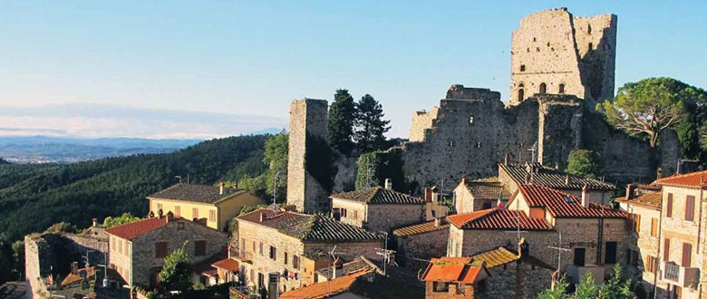 Civitella Castle View