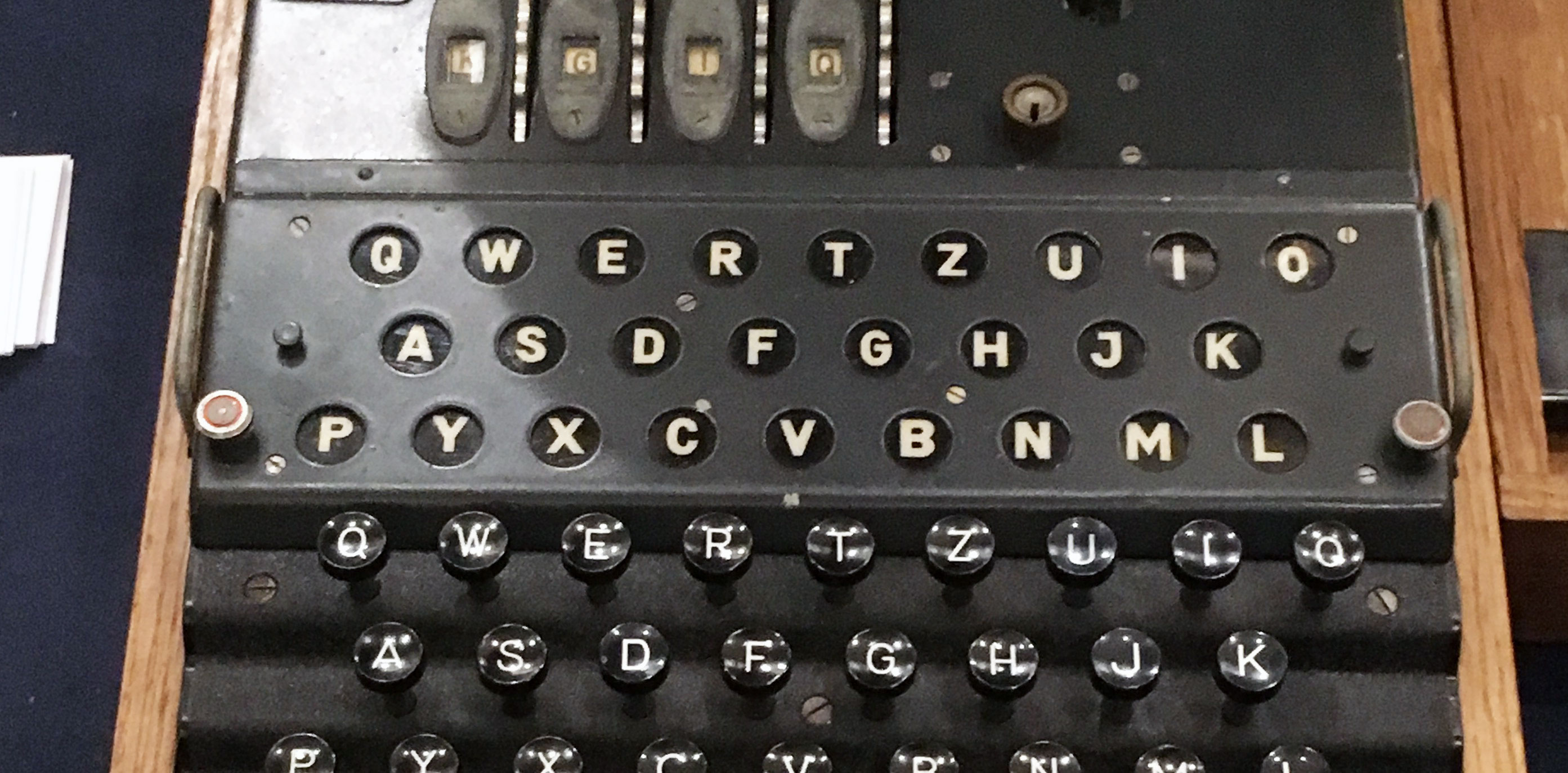 Of nuns and enigma machines